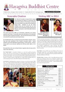 HBC Newsletter 2014 Jan-Mar
