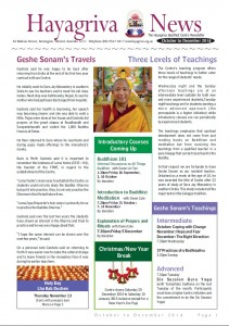 HBC Newsletter 2014 Oct-Dec