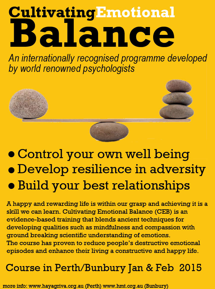 Cultivating Emotional Balance