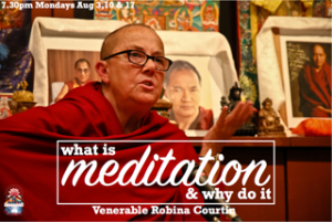 meditation what is robina courtin