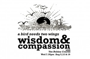 Venerable Robina 2015 - A bird needs two wings wisdom and compassion
