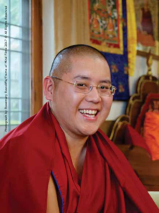 His Eminence Kyabje Ling Rinpoche - Reincarnation of one of HH Dalai Lama's teacher